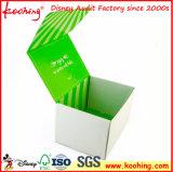 Luxe personnalisé de pliage du papier kraft de carton ondulé un emballage cadeau Boîte avec logo imprimé