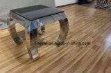 Moderne Edelstahl-Sofa-Tisch-Seiten-Tisch-Enden-Tisch-Wohnzimmer-Möbel