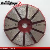50# среднего металлическая задняя часть 3 отверстия конкретные шлифовки алмазов диск