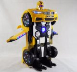 Conduite de gosses sur le véhicule de robot avec la fonction de transformation