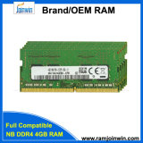 2017 нов цен RAM компьтер-книжки 4GB DDR4
