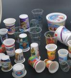 Tazas plásticas semiautomáticas que forman la máquina para el material del animal doméstico