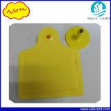 ISO11784/5 Tag de orelha do gado da freqüência ultraelevada RFID