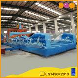 2 en 1 Parque de Atracciones inflables de PVC barco pirata con un gran gorila inflable cama (AQ01265)