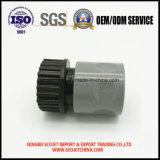 Acoplador de desconexión rápida modificado para requisitos particulares de la inyección plástica