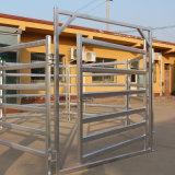 Панель ярдов Corral скотин металла Австралии стандартная гальванизированная с стробом