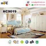 Mobiliário de casa de madeira nova Mobiliário de quarto de estilo clássico (9019)