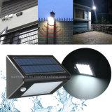 16 der LED-Solarwand-Lampen-im Freien PIR angeschaltenes LED Garten-Solarlicht Bewegungs-des Fühler-