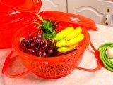 デザート用深皿のフルーツの洗面器プラスチック空手の花のバスケット