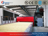 Cadena de producción de cristal de temple plana doble de las cámaras de calefacción de Southtech (TPG-2)