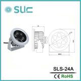 Venta caliente 12W FOCO LED impermeable
