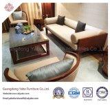 Le lobby est de l'hôtel en bois Meubles avec table à café de marbre (YB-E-8-1)