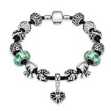 Het Glas van de Gift van de manier parelt de Hart Gestalte gegeven Regelbare Juwelen van de Armband