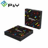 LED-Fernsehapparat mit Satellitenempfänger H96 maximaler H2 Rk3328 4G 32g Fernsehapparat-Kasten und HDMI Digital Kabel Einstellen-Oberseite Kasten mit drahtloser Tastatur