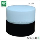 Éclairage de mur de porcelaine de noir du cru E27