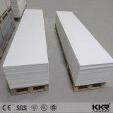 Commerce de gros de matériaux de construction solide blanc glacier de dalles de surface (170908)
