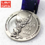 Hot Sale Custom Alliage de zinc moulé sous pression, la Filature Médaille bon marché fabriqués en Chine