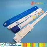 Bracelet de papier synthétique d'IDENTIFICATION RF de la gestion des événements ICODE SLIX