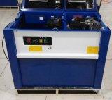 Halbautomatische gurtenbindenmaschine für quadratische Waren