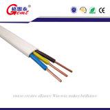 Cable eléctrico de cobre de calidad superior del PVC Insulatied de la base BVVB