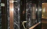 Италия Nero черным мраморным полированным кафелем&слоев REST&место на кухонном столе