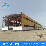 Structure métallique approuvée de la CE préfabriquée pour l'entrepôt