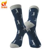 Kundenspezifische Socken-Fertigung-Frauen-und Mann-glückliche Socken