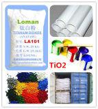 Micro superventas de dióxido de titanio plástico goma La101