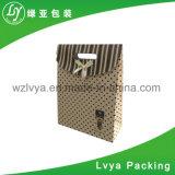 Sac de empaquetage personnalisé de cadeau de papier de thé de l'impression 4c