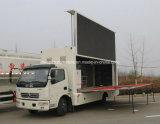 手段を広告するDongfeng 4X2 LED 6つのTの移動式段階のトラック