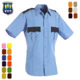 Guardia de seguridad de hombre ropa de trabajo uniformes camisa protectora de seguridad