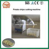 Перст картофельных стружек откалывает резец и автомат для резки