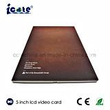 Precio de fábrica! 5 pulgadas LCD Video Brochure-Video Tarjeta para publicidad