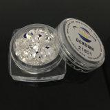 Os flocos frouxos do Glitter da poeira de diamante, ofício holográfico da forma do diamante 3D resplandecem pó