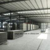 El aislamiento térmico de materiales de construcción sándwich EPS el panel de pared para la estructura de acero