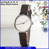 Het Horloge van de Dames van de Vervaardiging van het Horloge van het Embleem van de douane (wy-087C)