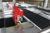 Aplique vedante lateral da máquina wrapper para porta retrátil