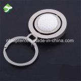 Ricordi smontabili su ordinazione funzionali di gioco del calcio dell'anello portachiavi del metallo dell'anello chiave di rotazione