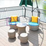 Mobilia esterna del rattan di svago della camera da letto del salone del balcone del giardino