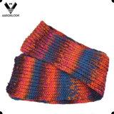 Ультрамодный цветастый связанный тип шарфа зимы