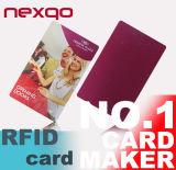 Clave del fabricante RFID, tarjeta dominante del hotel de RFID, etiqueta dominante de NFC