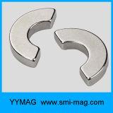 Сильные постоянные магниты в форме дуги используемой в моторе