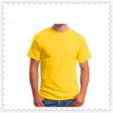 昇進のロゴの安く100%年の綿のTシャツの広告