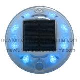 8pcs LED solaire Cat Eyes goujon de la route feu clignotant