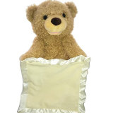A Peek Boo Falando Teddy Bear-Animated brinquedos eléctricos