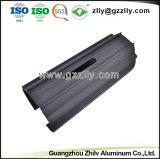 OEM Precison алюминиевый профиль для светодиодного освещения с Anodizing теплоотвода