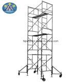 構築のためのアルミニウム移動式足場タワー