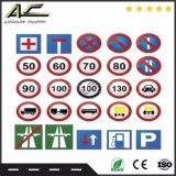 Poteau de signalisation directionnel de panneau de signe de route de peinture en métal