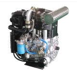 De natuurlijk Opgezogen Dubbele Dubbele Dubbele Hoge snelheid van de Motor van de Dieselmotor van 2 Cilinder Twee voor de Generator van de Macht van Genset van de Pomp van het Water met 16.5kw 22HP 3600rpm ModelTwd292f