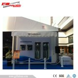 30X100M 3000 places géant en aluminium tente avec tissu PVC